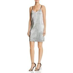 Brand New Silver Slip Dress